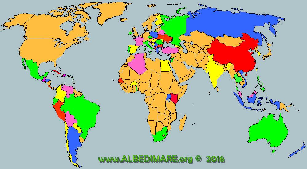FESTIVAL WORLDMAP aggiornata al 2016